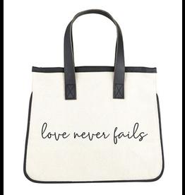 Creative Brands Love Never Fails Mini Tote