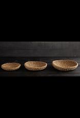 Creative Brands Seagrass Round Tray Small
