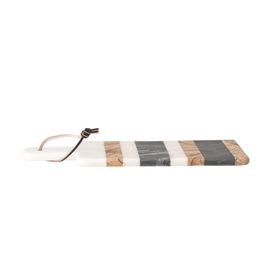 Bloomingville Marble Tray/Cutting Board with Stripes