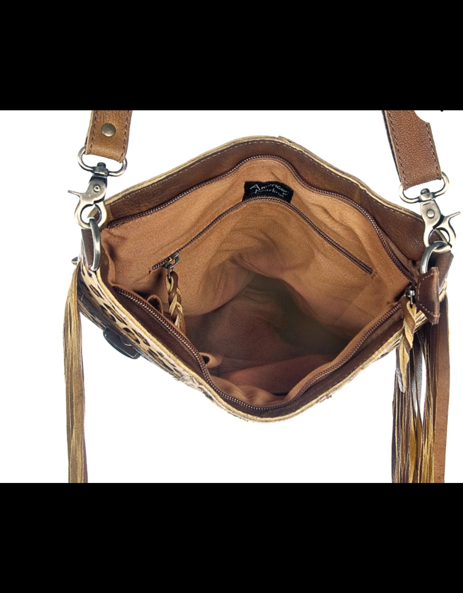 American Darling Cheetah Messenger Bag