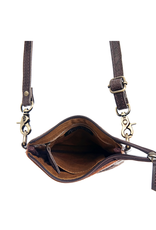 American Darling Leather Carved Small Cross Body