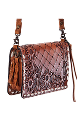 American Darling Leather Carved Wallet
