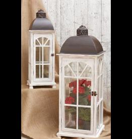 Small White Nesting Lantern