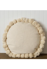 Audrey's Round Pom Pom Pillow
