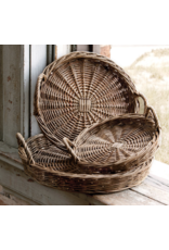 Park Hill Brown Willow Tray Small