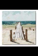 Sullivans Beach Wall Art 9 x 9