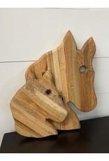 Gypsy Wagon Horse Cutting Board Large