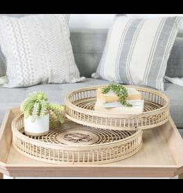 VIP Home & Garden Rattan Tray Large