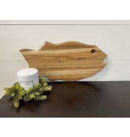 Gypsy Wagon Medium Salmon Cutting Board