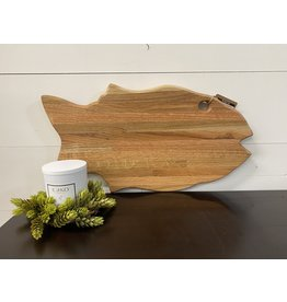 Gypsy Wagon Large Salmon Cutting Board