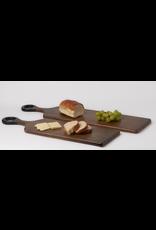 BIDK Acacia Wood Rectangle Cutting Board 7 x 18.5 Dark Brown