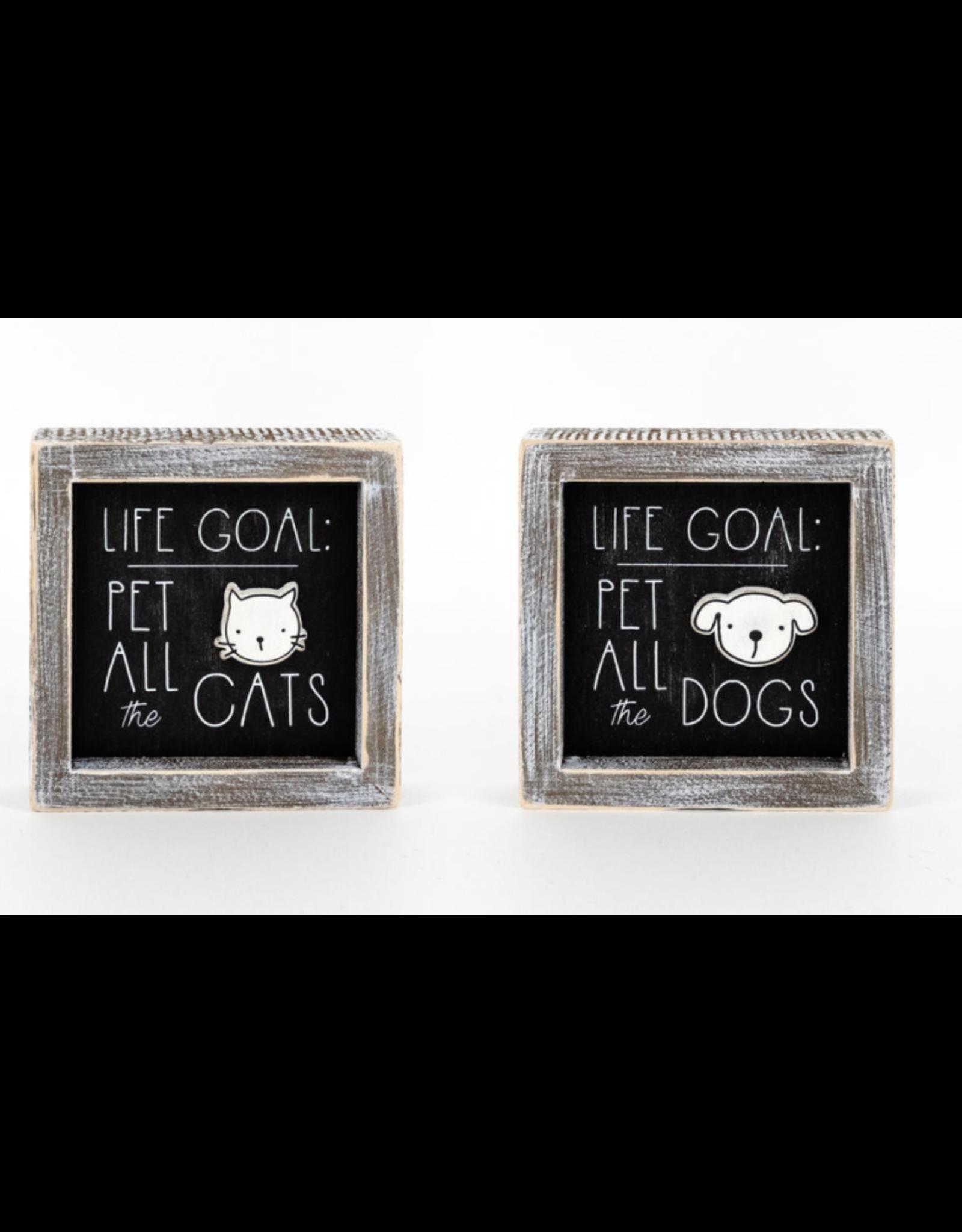 Adams & Co. Life Goal Cat/Dog