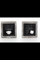 Adams & Co. Reversible Dog/Cat Sign