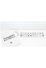 Adams & Co. Number and Symbol Tile Bag (30 Pieces)