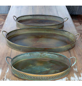 Park Hill Patina Serving Tray Large