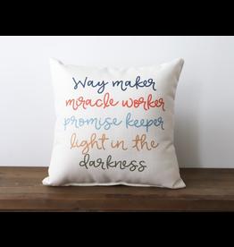 Little Birdie Way Maker Pillow