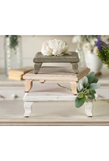 VIP Home & Garden Grey Wood Riser