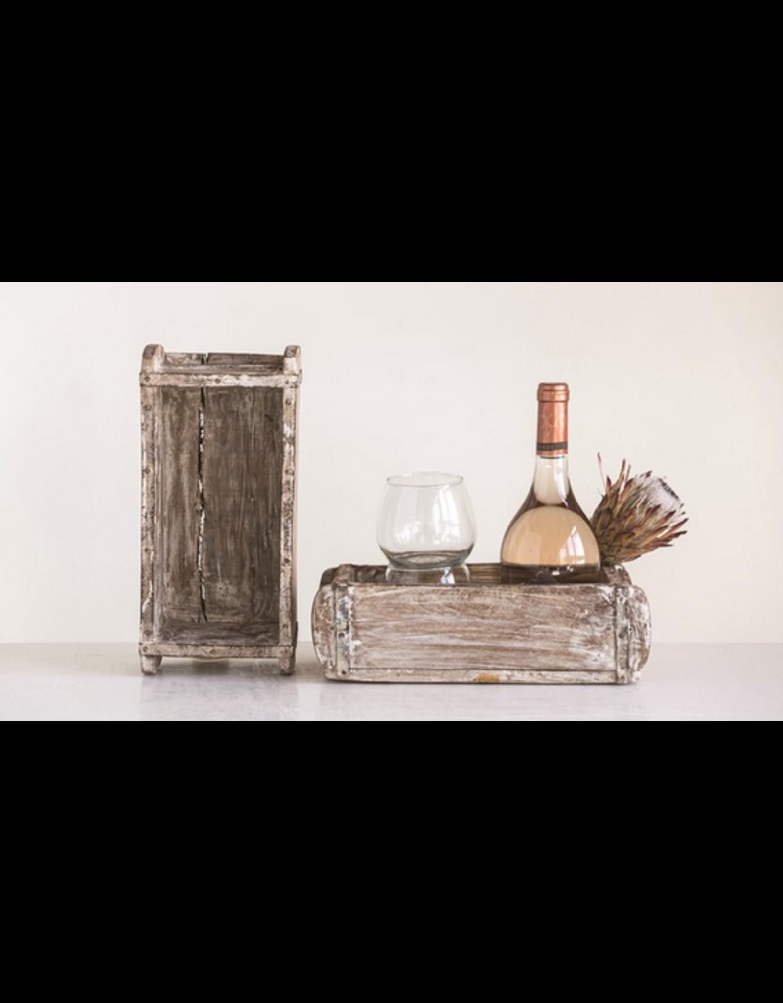 Creative Co-Op Single Brick Mold White