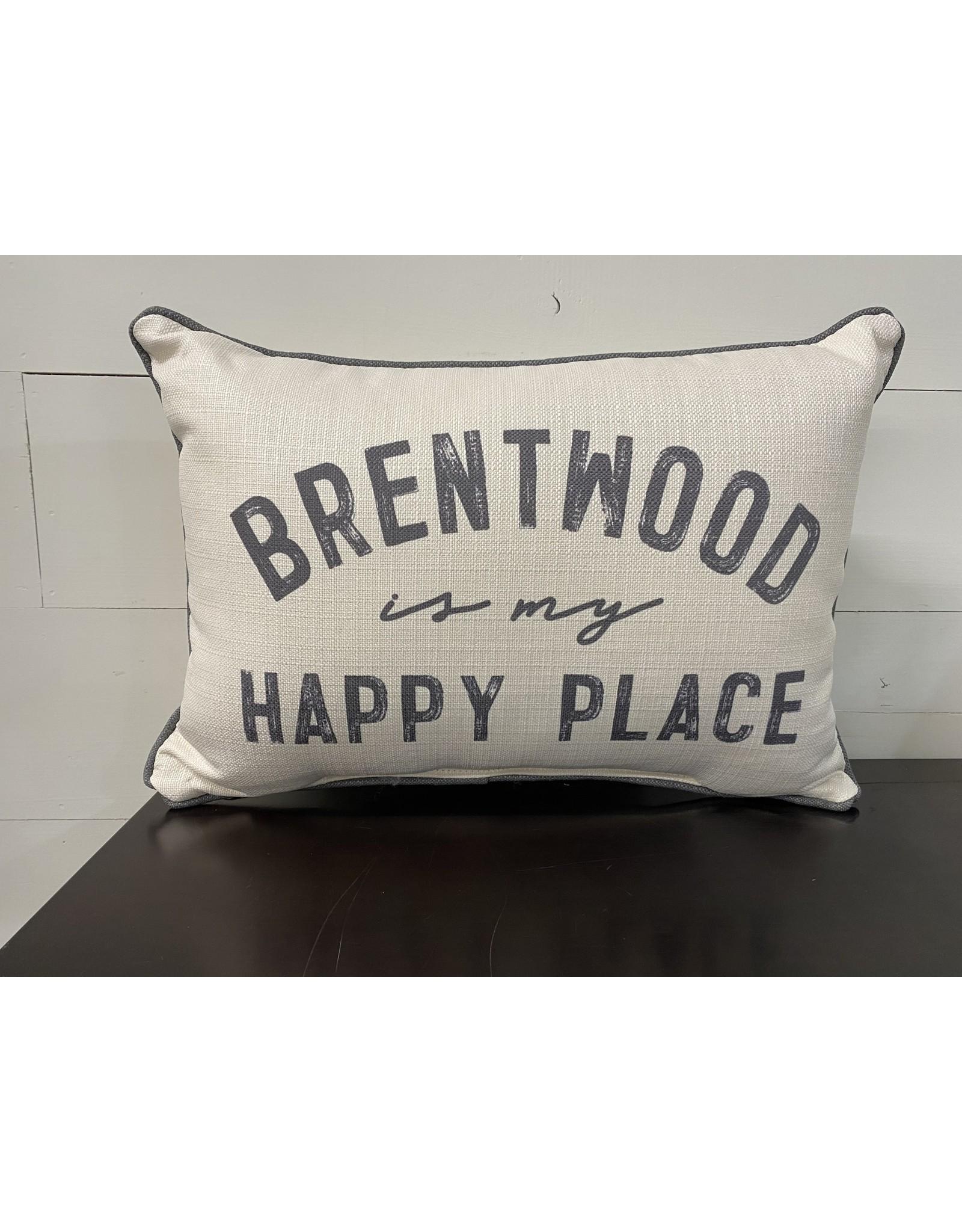 Little Birdie Brentwood Is My Happy Place-Grey Tones