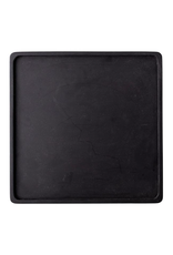Bloomingville Square Acacia Wood Tray in Black