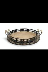 Demdaco Iron & Fir Wood Tray Small