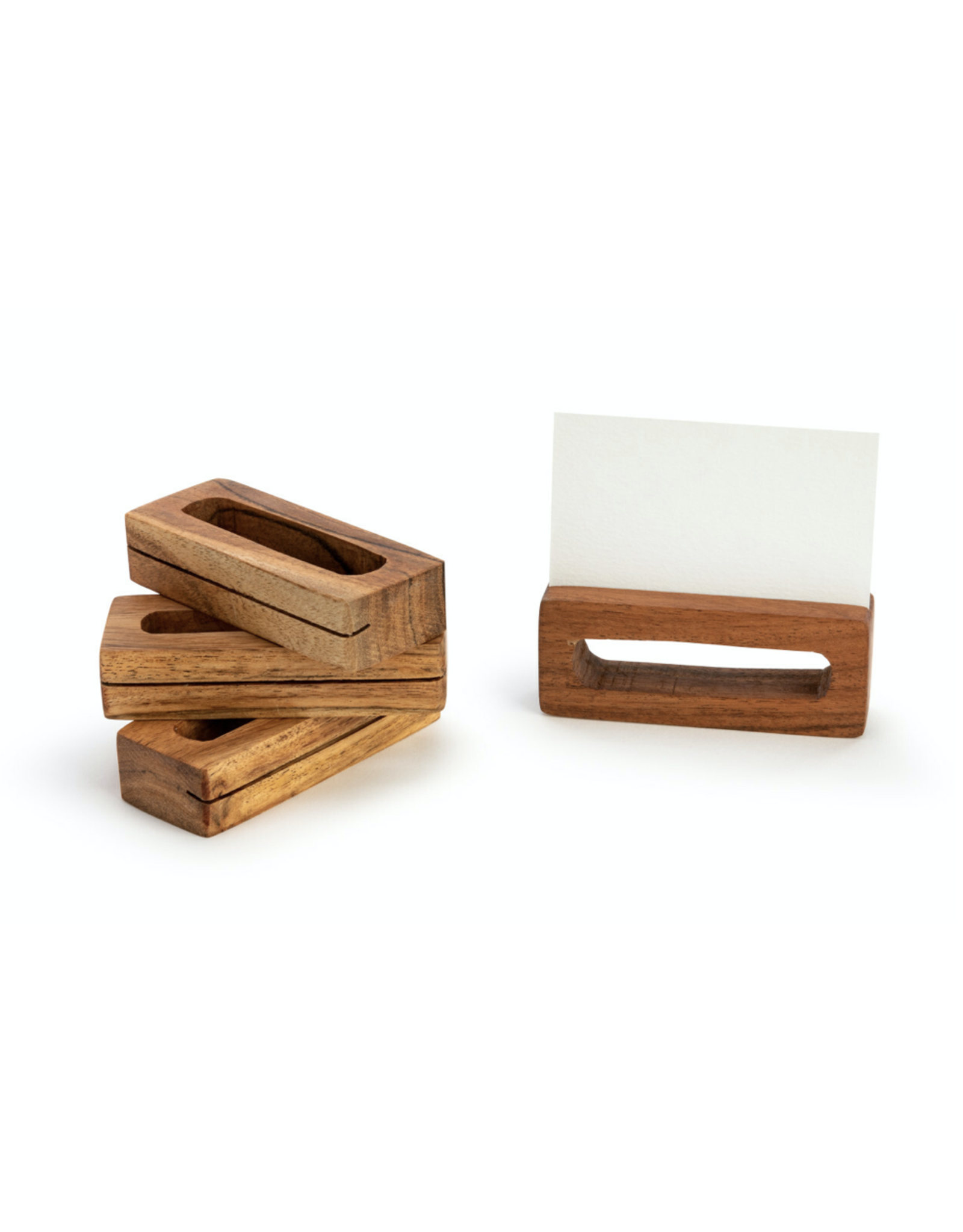Demdaco Napkin Ring Place Card Holder set of 4