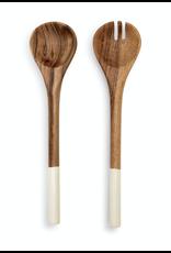 Demdaco Acacia & Resin Wood Serving Utensil Set