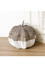 Audrey's Pumpkin Shaped Basket