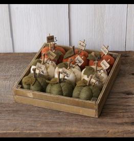 Audrey's Mini Cloth Pumpkins