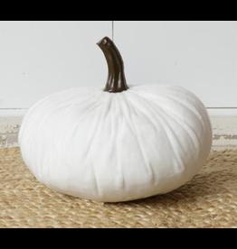 Audrey's Velvet Pumpkin White