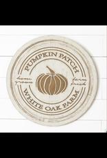 Audrey's Pumpkin Patch White Oak Farm Sign