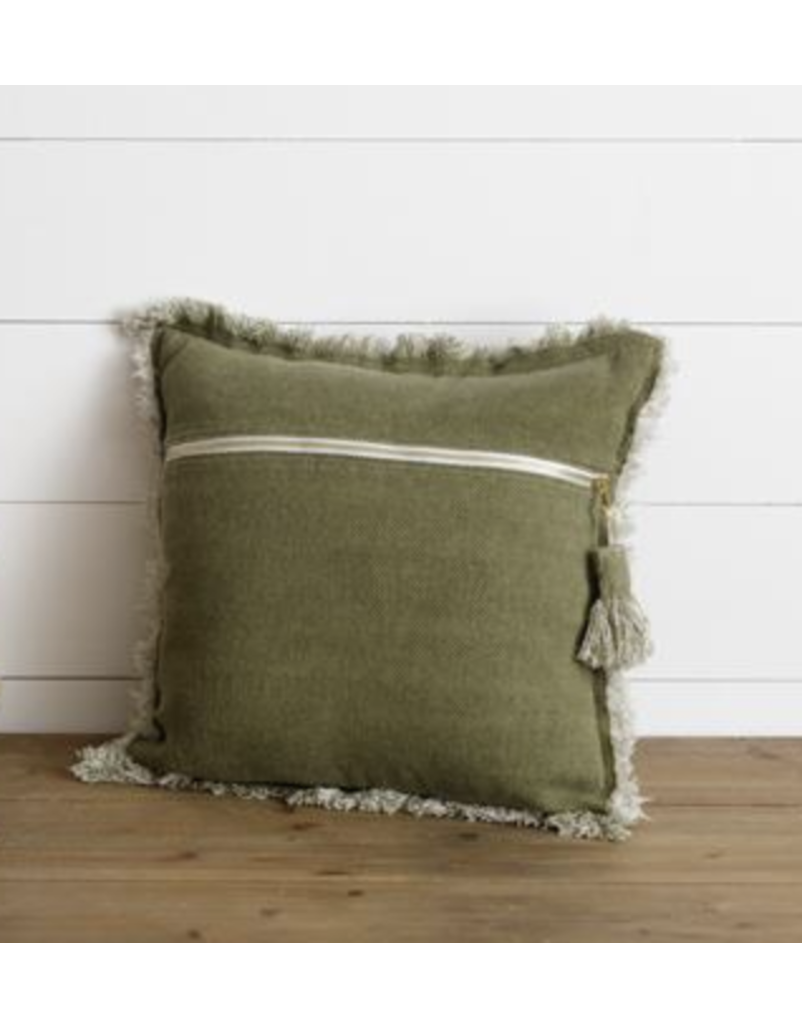 Audrey's Stone Washed Tassel Pillow
