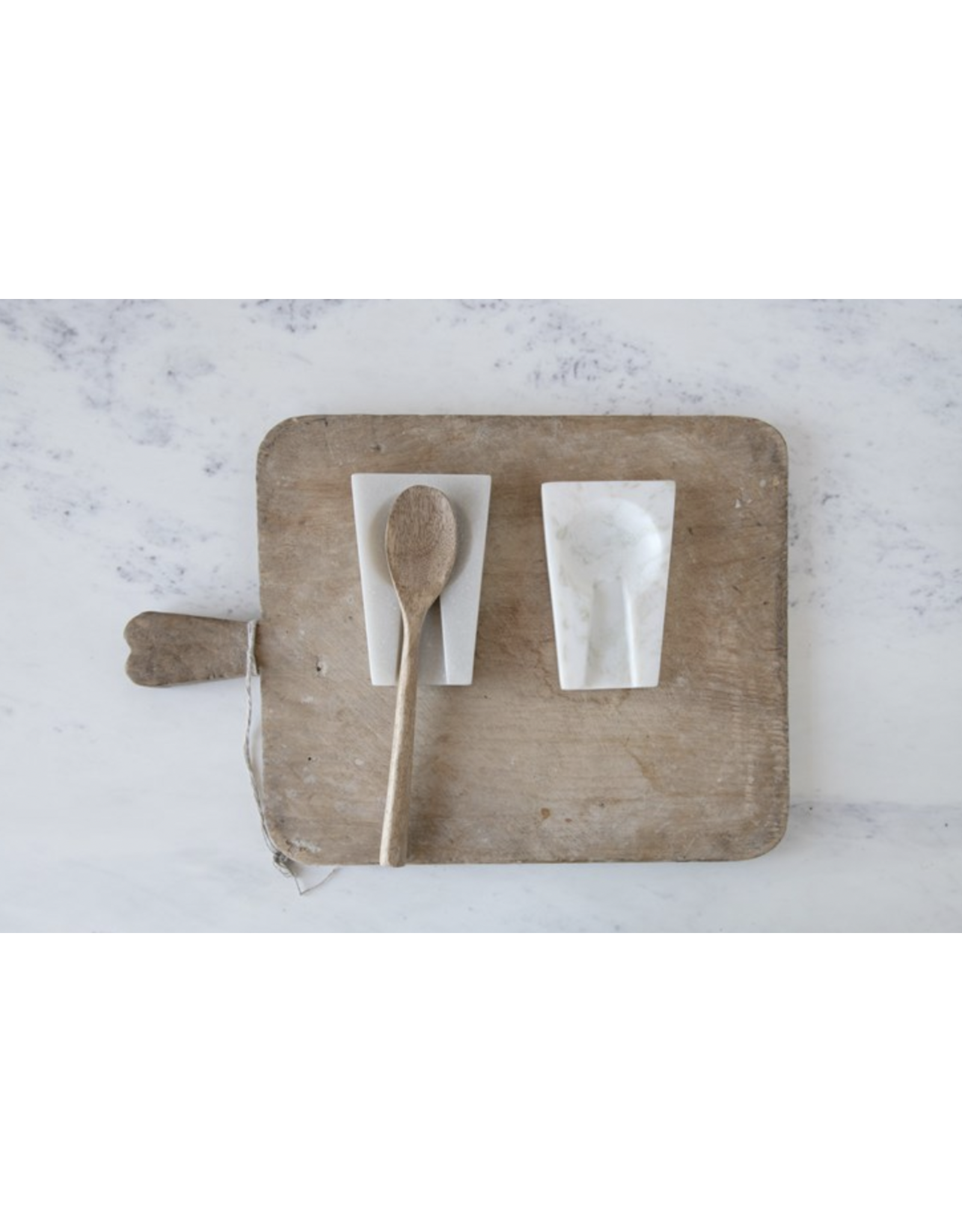 Creative Co-Op Marble Spoon Rest