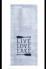 Kaydee Design Live, Love, Lake Tea Towel