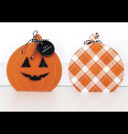 Adams & Co. Reversible Pumpkin Cutout Large