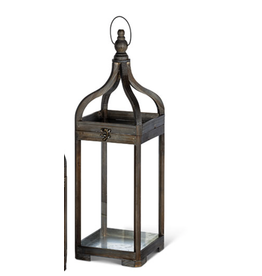 Gerson Everlasting Glow Charcoal Lantern Large