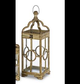 Gerson Everlasting Glow Window Pane Lantern Large
