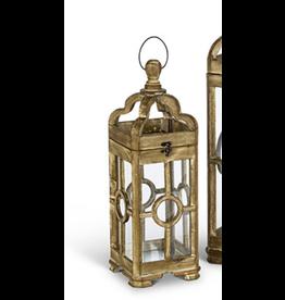 Gerson Everlasting Glow Window Pane Lantern Small