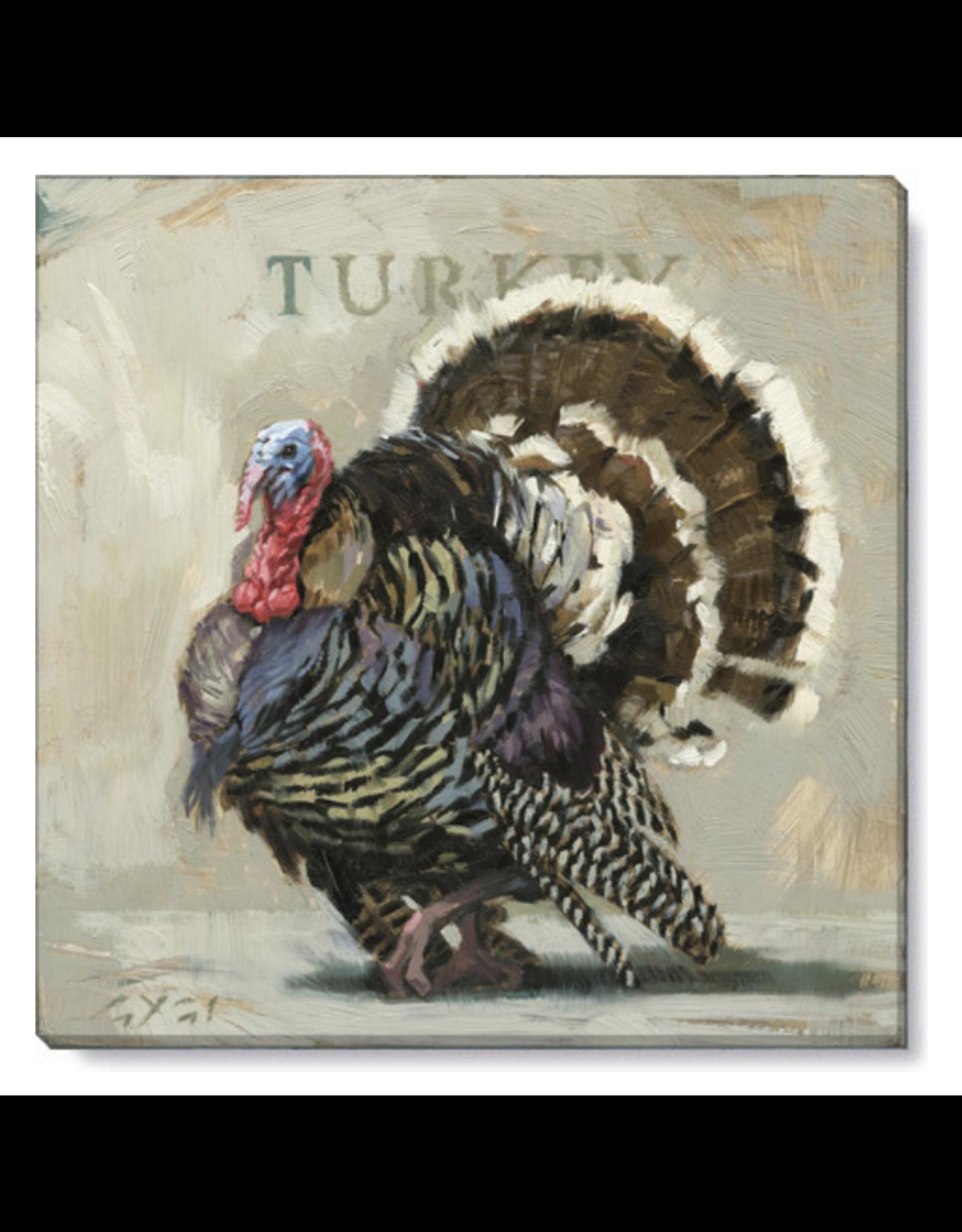 "Sullivans Turkey Wall Art 5"" x 5"""