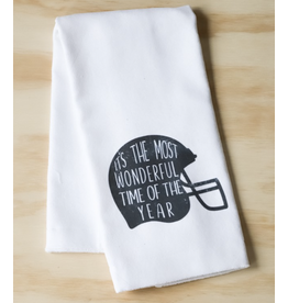 Little Birdie It's The Most Wonderful Time of the Year Tea Towel