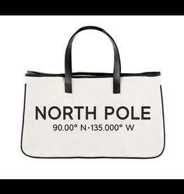 Creative Brands North Pole Canvas Tote