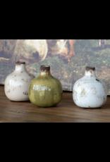 Park Hill Glazed Bud Vases