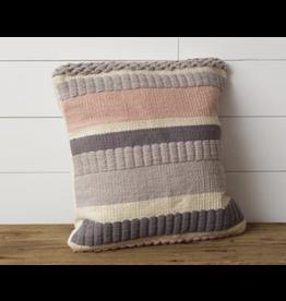 Audrey's Blush Stripe Pillow