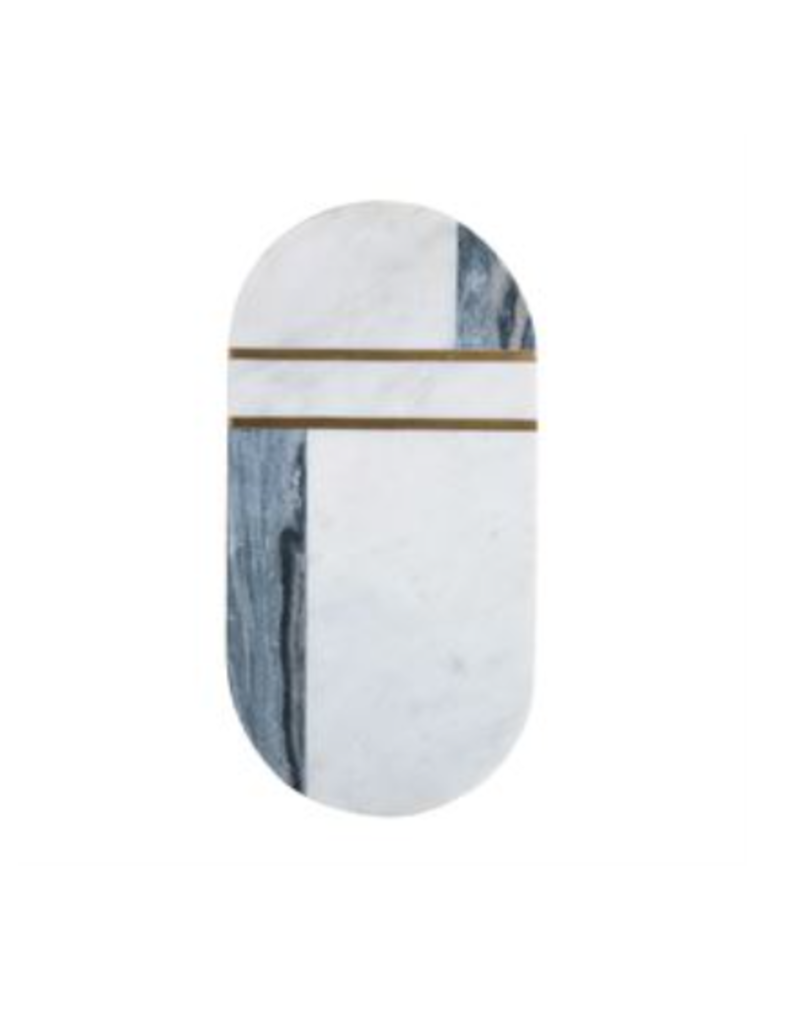 Bloomingville Marble with Brass Board