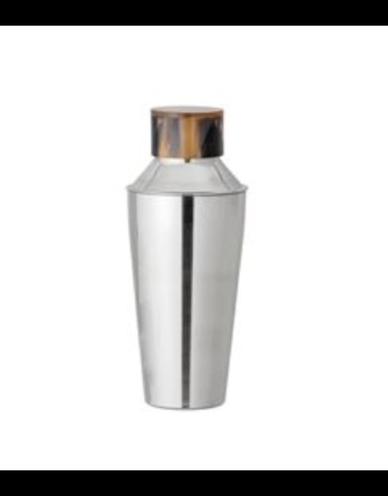 Bloomingville Horn Top Cocktail Shaker, Stainless Steel