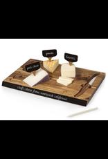 Picnic Time Delio Cheese Board & Tools Set