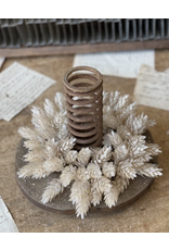 "Lancaster & Vintage Pearl Hops Candle Ring 4"""