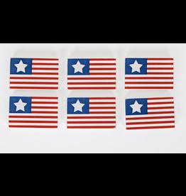 Adams & Co. American Flag Tile