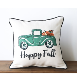 Little Birdie Happy Fall Truck with Charcoal piping