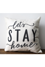 Little Birdie Let's Stay Home Pillow